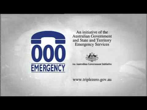 Triple Zero (000) - Australian emergency phone number