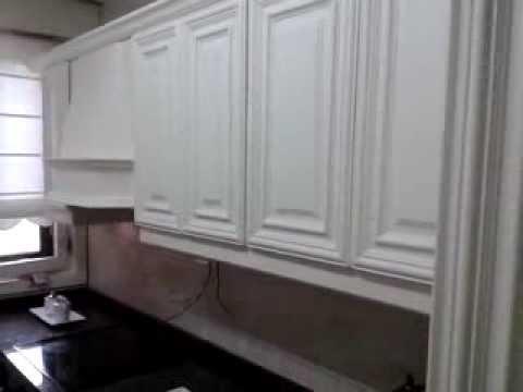 Como lacar en blanco una cocina de roble2  YouTube