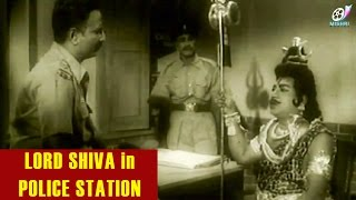 Lord Shiva in Police Station | Tamil Comedy Scene | Ruthra Thandavam | VK Ramasamy | Nagesh Comedy