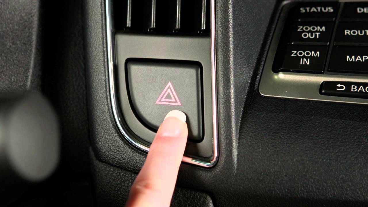 2014 nissan maxima hazard warning flasher switch youtube. Black Bedroom Furniture Sets. Home Design Ideas