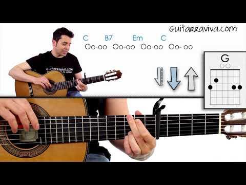 Cómo tocar Somewhere Over The Rainbow - Tutorial de Guitarra