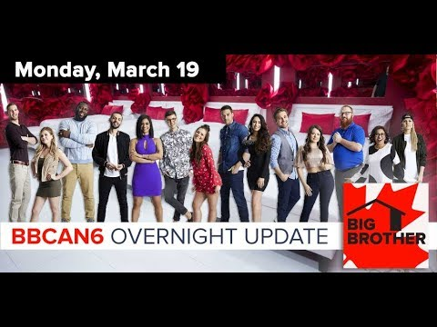 Big Brother Canada 6  March 19  Overnight Update Podcast