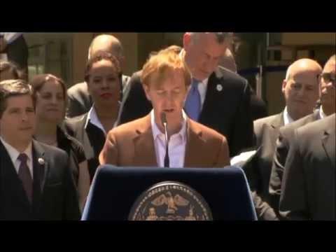 Mayor Bill de Blasio Announces 'Jobs for New Yorkers'