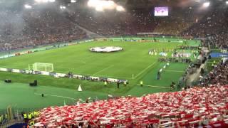 AS Roma : FC Bayern München - 21. Oktober 2014 - 1:7 - Stimmung vor dem Spiel