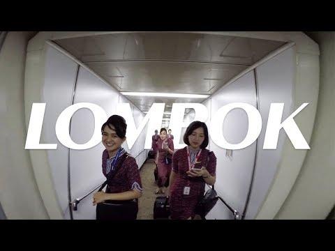 Cockpit View - LOMBOK!