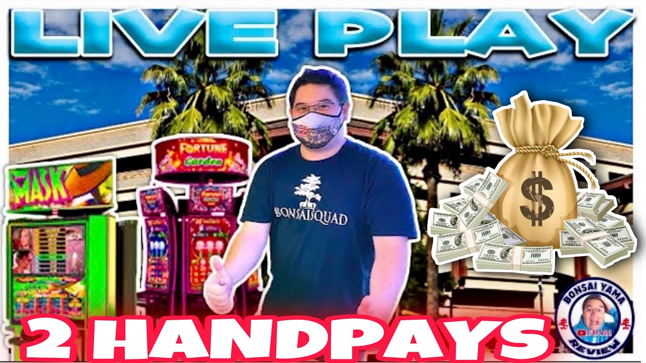 Two Hand Pays Live From San Manuel Casino