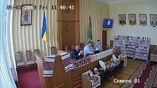 Сесія Глибоцької районної ради від 3 травня 2019