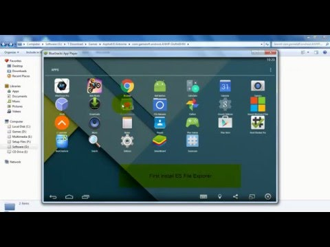 How to Install APK's, and OBB files in Bluestacks