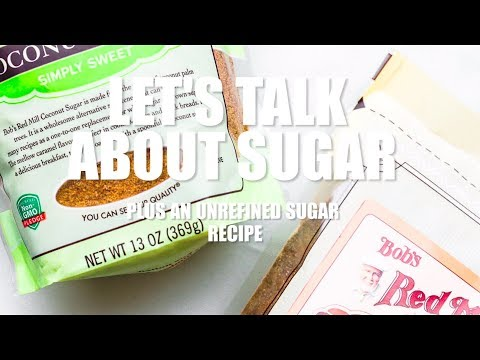 LET'S TALK ABOUT SUGAR!