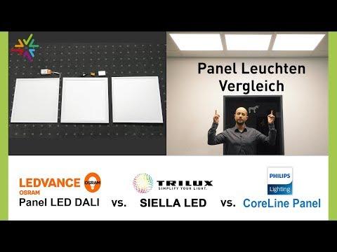 Vergleich und Test: LED Panel Leuchten für Rasterdecken - Die beste Deckenleuchte für Ihr Büro