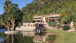 Glitzy Mallorca Estate loved by A listers, recording studio, yacht & own fleet of cars -- BSP13