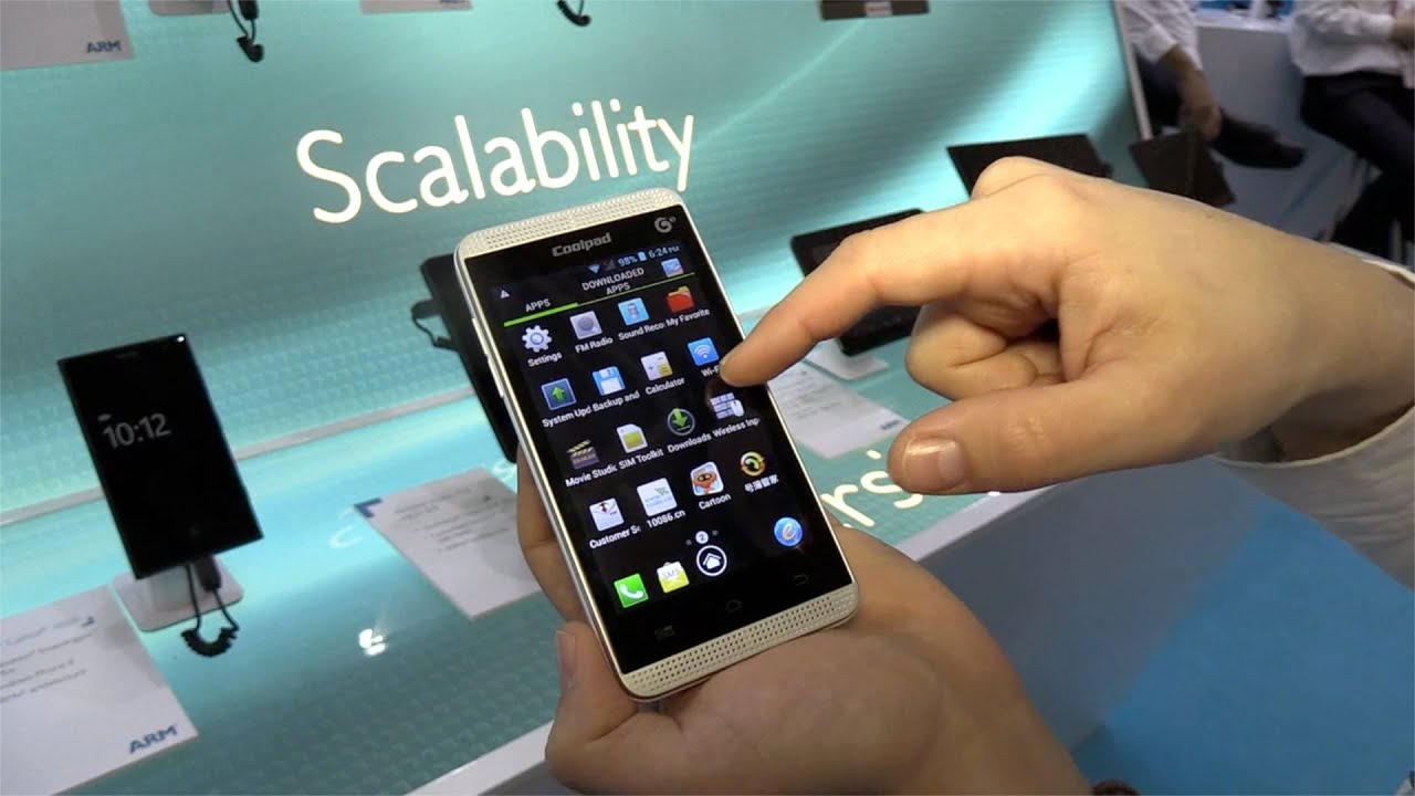 MWC 2014: First Look at the Yulong Coolpad 8122