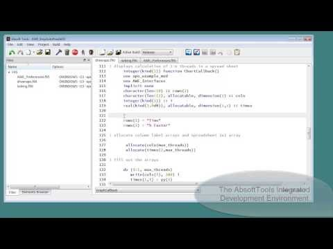Absoft Pro Fortran Compilers and Debuggers for All Platforms