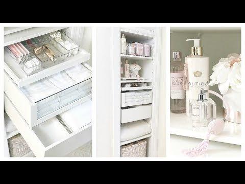 New Small Linen Closet Organization W