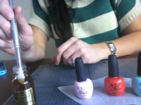 make nail polish bottles