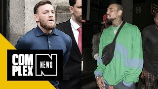 Chris Brown Sympathizes With Conor McGregor After His Bus Incident