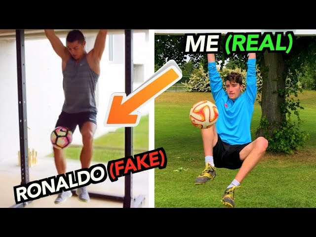 Footballers FAKED these Tricks, But I did them for REAL!! (Part 2)