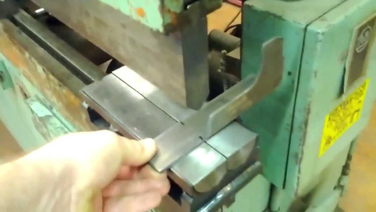 Roller Bottom Dies For My Press Brake Youtube