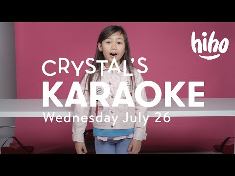 🎤 Crystal's Live Karaoke Coming Soon!! 🎤 | HiHo Kids