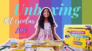 Material escolar 2019   Unboxing kit artÍstico ACRILEX