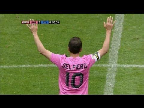 Del Piero Goal & Farewell vs. Atalanta (HD)