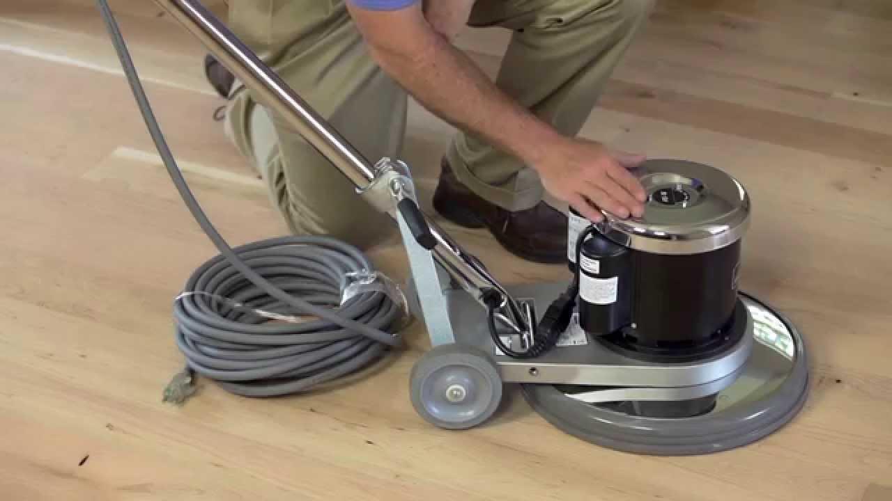 Hardwood Floor Buffer