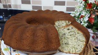 Haşhaşlı Kek - Hülya Ketenci - Pasta Tarifleri