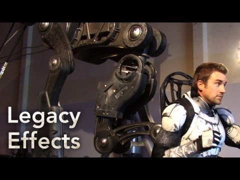 PACIFIC RIM Behind The Scenes: The Conn Pod - Legacy Effects