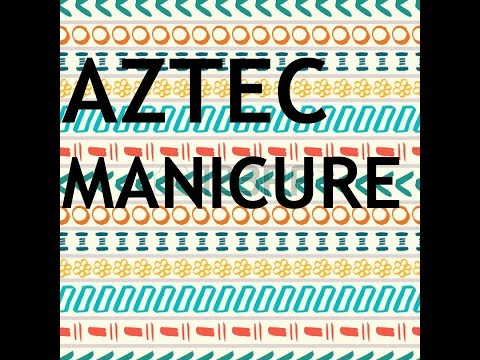 Aztec Manicure - Look.That.Nail Nail   Polish nail art