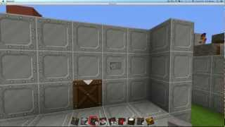 Hidden Crafting Table - Piston Block Swapper (easy Redstone)