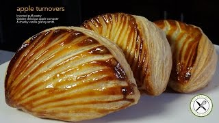 Apple Turnovers Recipe - Bruno Albouze - THE REAL DEAL