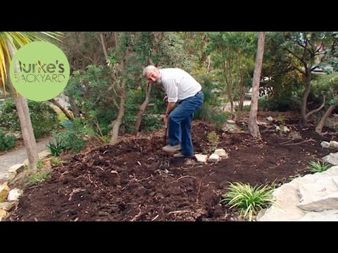 Burke's Backyard, Adding Organic Matter to Soil