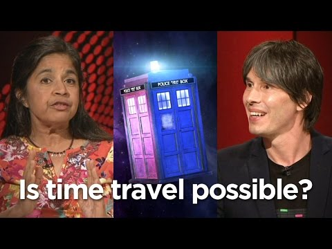 Is time travel possible? Brian Cox and Nalini Joshi offer their views | Q & A