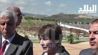 نورية بن غبريط / وزيرة التربية الوطنية  --el bilad tv --