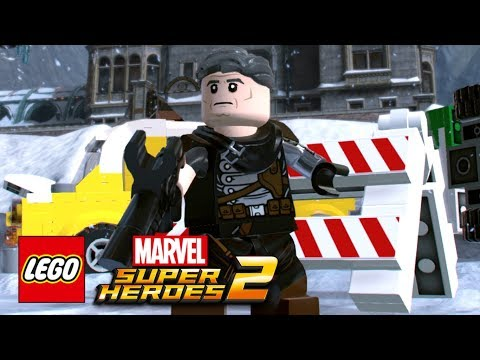 LEGO Marvel Super Heroes 2 - How To Make Cable (Josh Brolin)