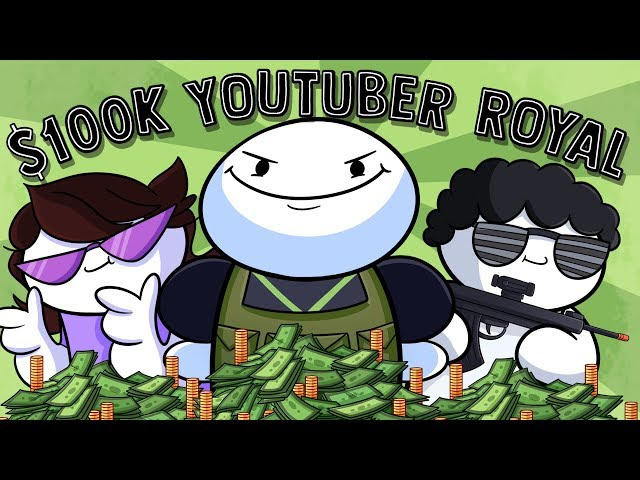 Fighting in Mr Beast's $100k Youtuber Battle Royale