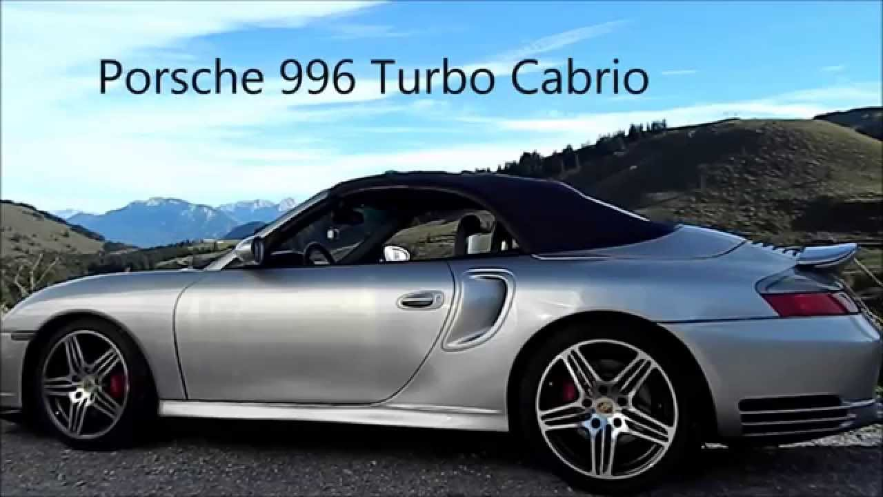 porsche 911 996 turbo cabrio convertible soft top verdeck youtube. Black Bedroom Furniture Sets. Home Design Ideas