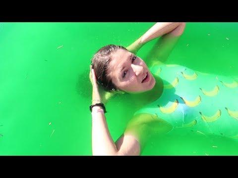 PISCINA PIENA DI SLIME! (Slime Pool Challenge)