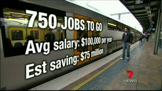 (Cityrail) Ruthless RailCorp reforms planned as middle management axed