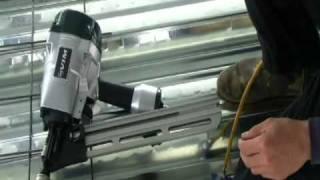 施工快速安全好用超省力 氣動鋼釘槍使用教學