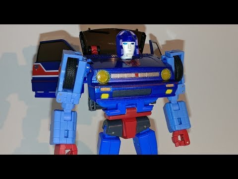 #140 X-Transbots Savant (Skids) face and headlights fix