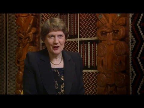 Helen Clark talks about UN Secretary-General role