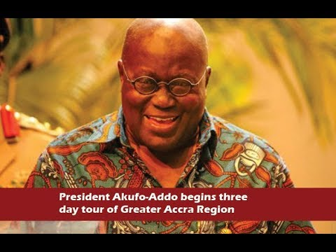 News in brief 8-11-17. Akufo-Addo begins three day tour of Greater Accra Region