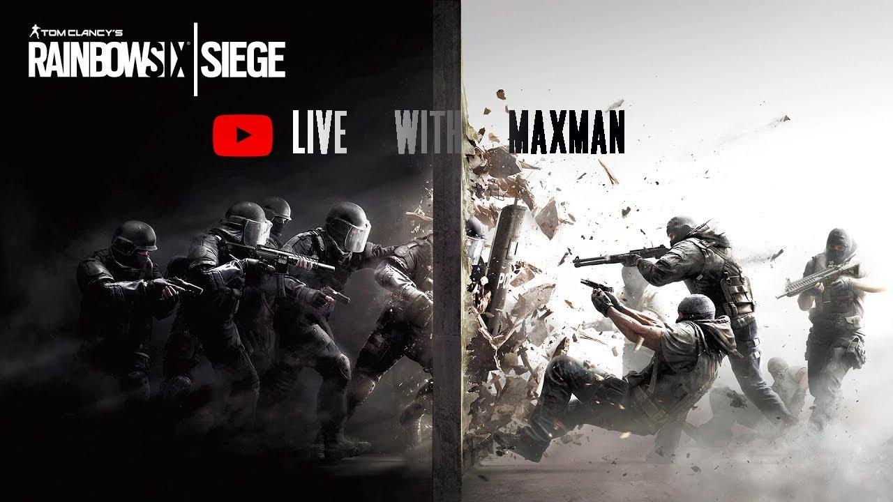 STEEL wavvv is here| Rainbow Six LIVE | INDIA | maxman gaming #43