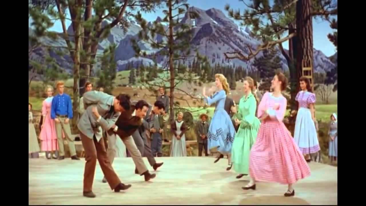 Barn Raising Dance 7 Brides for 7 Brothers MGM Studio ...