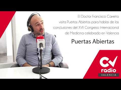 Entrevista al Dr. Francisco Carreño en CV Radio - XVII Congreso de la SEMAL
