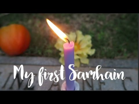 Modern Solitary Witch Celebrates Samhain - vlog