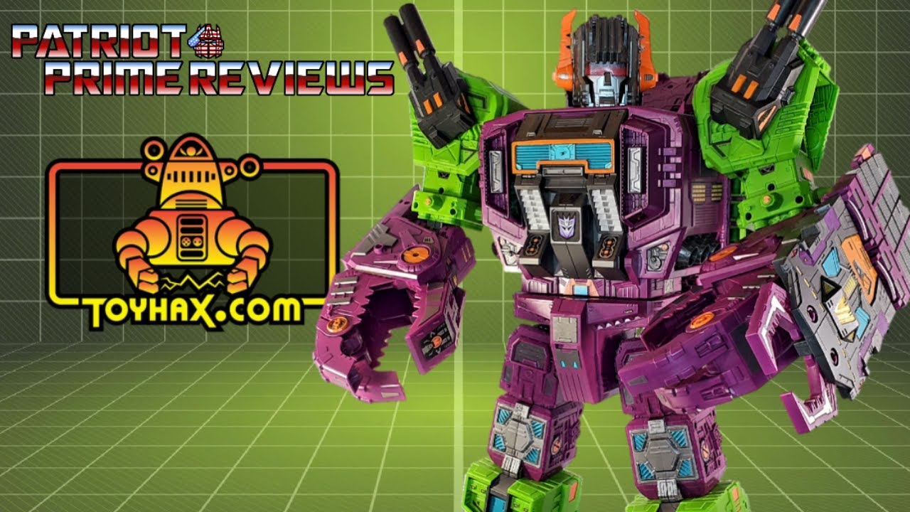 Toyhax Decal Set for Earthrise Scorponok By Patriot Prime Reviews