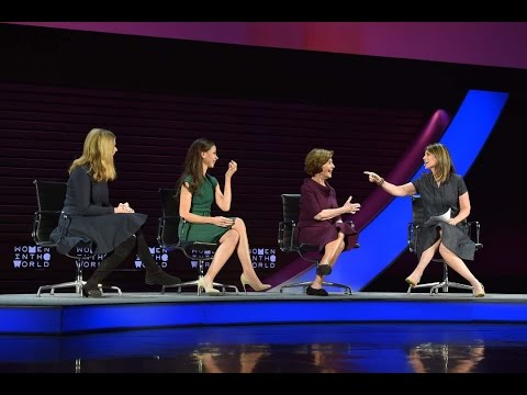 Laura, Jenna, and Barbara Bush interviewed by Savannah Guthrie ...