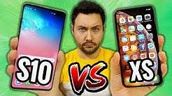 Galaxy S10 VS iPhone XS : le Gros Comparatif !